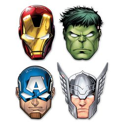 Mighty Avengers Masks