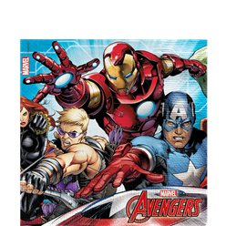 Mighty Avengers Napkins - 33cm