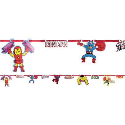Avengers Pop Comic Paper Garland Kit