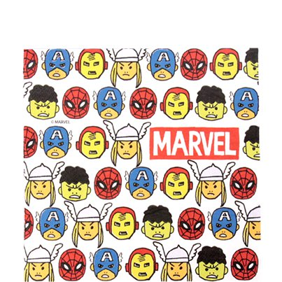 Avengers Pop Comic Paper Napkins - 33cm