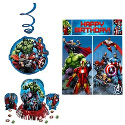 Avengers Party Decorating Kit
