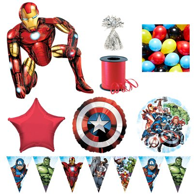 The Avengers Iron Man Deluxe Balloon Kit