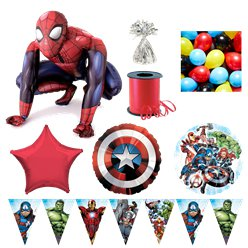 The Avengers Spiderman Deluxe Balloon Kit