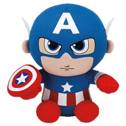 Marvel Captain America Beanie Toy
