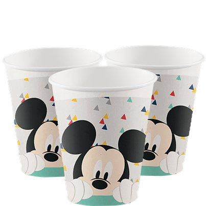 Mickey Awesome Paper Cups - 200ml