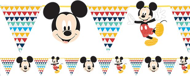 Mickey Awesome Paper Garland Kit - 2m