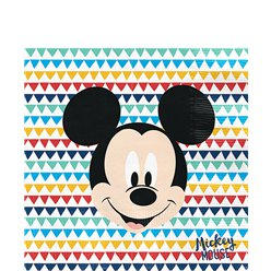Mickey Awesome Paper Napkins - 33cm