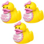 Baby Shower Girl Rubber Ducks