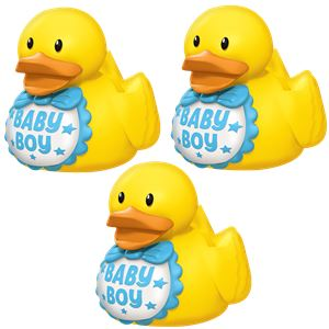 Baby Shower Boy Rubber Ducks