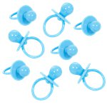 Baby Shower Large Blue Dummy Charms