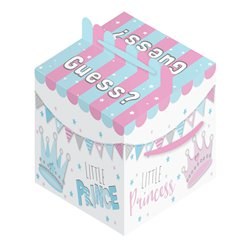 Gender Reveal Balloon Box - 36cm x 36cm