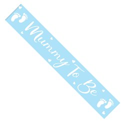 Mummy to Be Blue Sash
