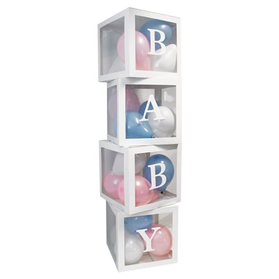 Baby Balloon Boxes Decoration Kit