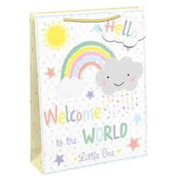 Welcome to The World Rainbow Gift Bag - Large
