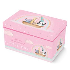 Welcome To The World Pink Gift Box