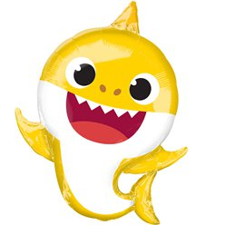 "Baby Shark SuperShape Balloon - 26"" Foil"