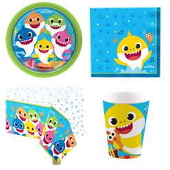 Baby Shark Party Pack - Value Pack for 8