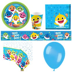 Baby Shark Party Pack - Deluxe Party Pack For 8