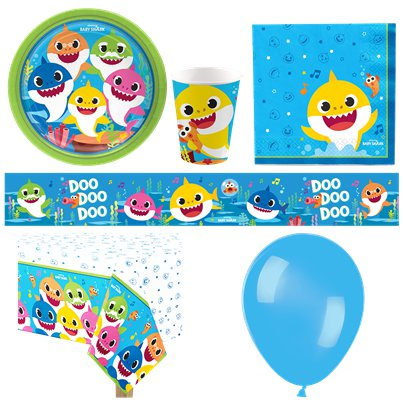 Baby Shark Deluxe Party Pack