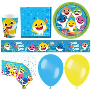 Baby Shark Party Pack - Deluxe Party Pack For 16