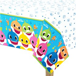 Baby Shark Paper Tablecover 1.37m x 2.6m