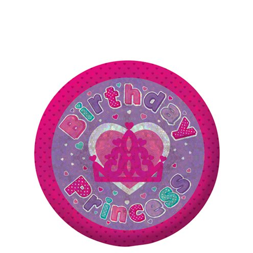 Happy Birthday Princess Badge