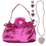 Disney Sleeping Beauty Bag & Jewellery Set