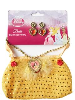 Disney Belle Bag & Jewellery Set