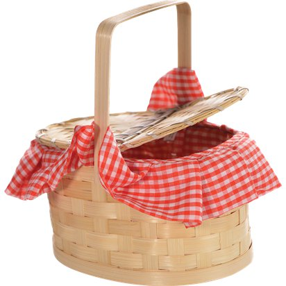 Basket Purse - Red Riding Hood front