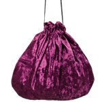 Purple Pouch Bag