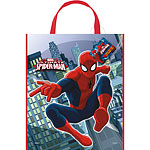 Spider-Man Tote Party Bag  Plastic