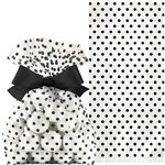 Black Cello Treat Bags with Bow - 21cm
