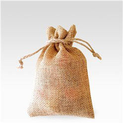 Natural Hessian Bags - 10 x 7cm