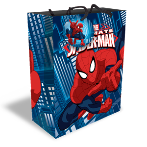 Spiderman Large Gift Bag - 31cm