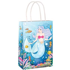 Mermaid Paper Bag with Handles 21cm