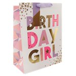 Birthday Girl Large Gift Bag - 33cm