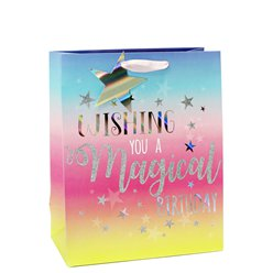 Magical Birthday Medium Gift Bag - 25cm