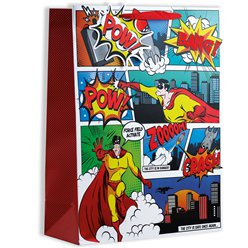 Comic Hero Gift Bag - Extra Large