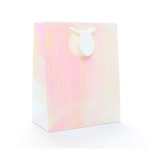 Iridescent Large Gift Bag - 33cm