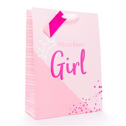 Baby Girl Gift Bag - Extra Large