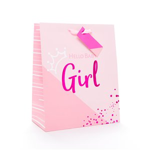 Baby Girl Gift Bag - Large