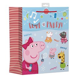 Peppa Pig Large Gift Bag
