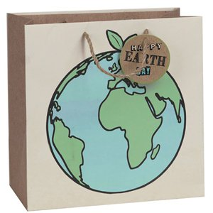 Happy Earth Day Eco Gift Bag - Large