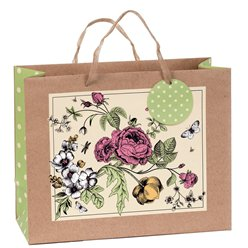 Floral Eco Gift Bag - Large