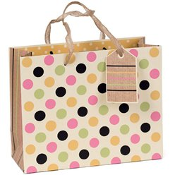 Dotty Eco Gift Bag - Medium