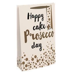Happy Cake & Prosecco Day - Bottle Bag
