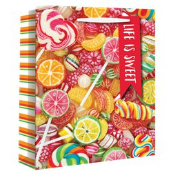 Large Tropical Sweets Gift Bag - 33cm