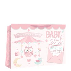 Medium Baby Girl Mobile Shopper Bag - 26cm