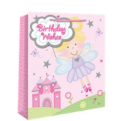 Medium Fairy Birthday Wishes Gift Bag