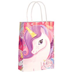 Unicorn Paper Bag - 21cm